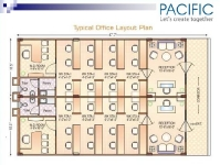 Typical-Office-Layout Plan